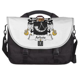 Arbois Family Crest Laptop Bag