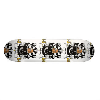 Arbois Family Crest Skate Board Deck