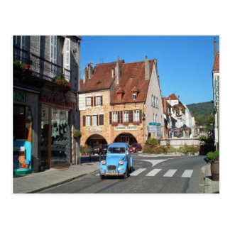 Arbois, in centre of town postcard