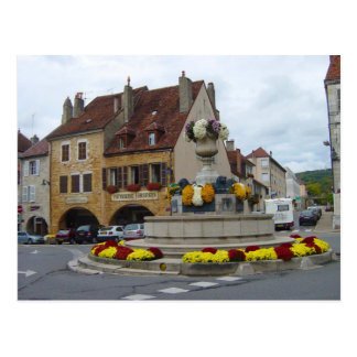 Arbois, in the centre of town postcard