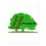Árbol #2 de Crown Heights Tarjetas Postales