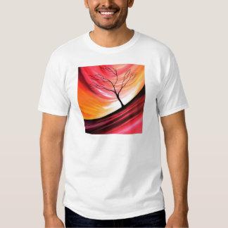 Árbol abstracto - arte moderno playera