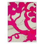 Árbol abstracto de las rosas fuertes o tarjetas de