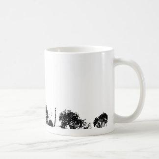 árbol abstracto gótico taza