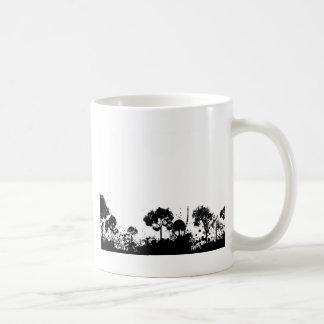 árbol abstracto gótico tazas