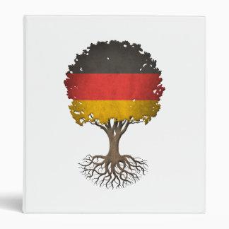 Árbol alemán de la bandera del personalizable de