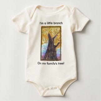 Árbol Aleph - bebé de la caída Body Para Bebé