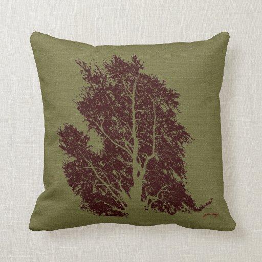 árbol almohadas