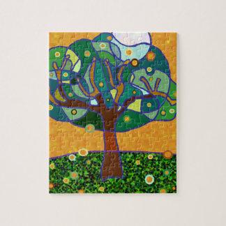 Árbol anaranjado puzzle