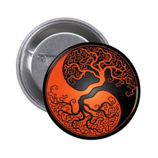 Árbol anaranjado y negro de Yin Yang Pin