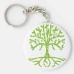 Árbol apenado III Llavero Personalizado