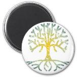 Árbol apenado VII Imán Para Frigorifico