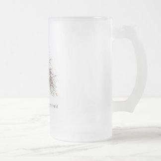 Árbol ateo taza de cristal