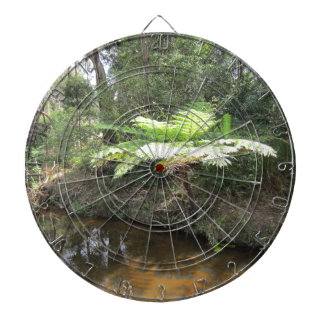 Árbol australiano del helecho tabla dardos