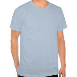 Árbol azul de Yin Yang Camisetas