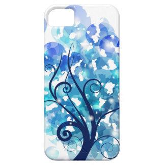 Árbol azul iPhone 5 protector