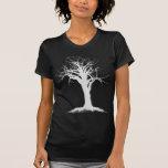 árbol blanco 2 camisetas