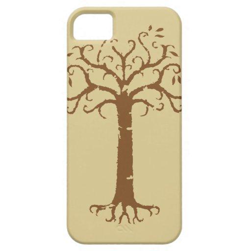 Árbol blanco de Gondor iPhone 5 Funda