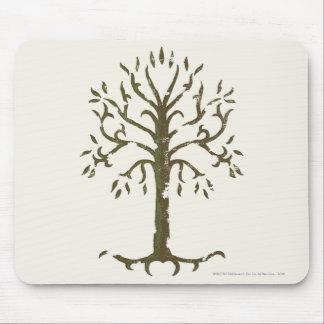 Árbol blanco de Gondor Mouse Pads