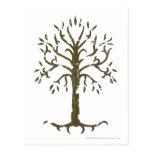 Árbol blanco de Gondor Tarjeta Postal