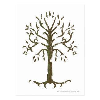 Árbol blanco de Gondor Postal