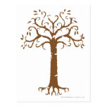 Árbol blanco de Gondor Tarjetas Postales