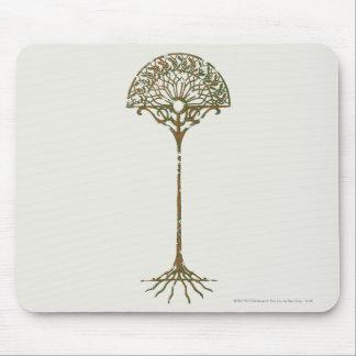 Árbol blanco de Númenor Tapetes De Raton