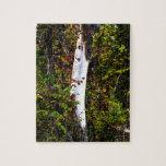 Árbol blanco llano puzzles con fotos