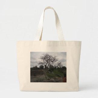 Árbol Bolsas Lienzo