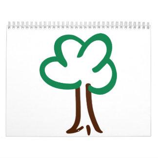 Árbol Calendarios De Pared