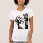 árbol camisetas