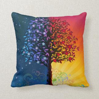 Árbol caprichoso de la almohada de tiro de la vida