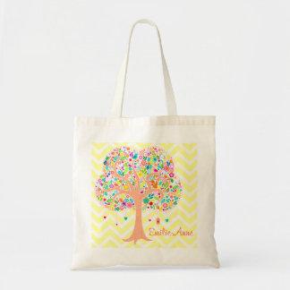 Árbol caprichoso - la bolsa de asas de encargo
