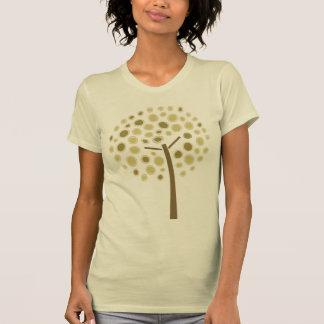 Árbol caprichoso camisetas
