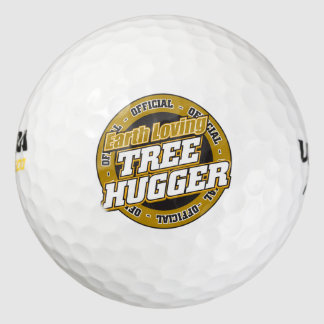 Árbol cariñoso Hugger de la tierra Pack De Pelotas De Golf
