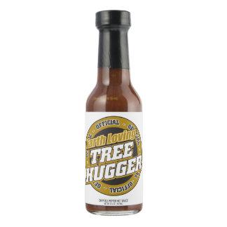 Árbol cariñoso Hugger de la tierra Salsa Picante