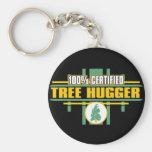Árbol certificado Hugger Llavero Personalizado