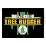 Árbol certificado Hugger Tarjetas