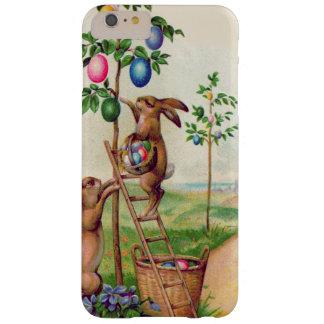Árbol coloreado del huevo del conejito de pascua funda barely there iPhone 6 plus