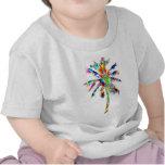 ÁRBOL colorido Camiseta