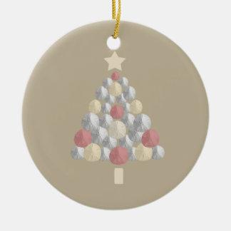 Árbol colorido del dólar de arena del navidad (bei adorno de navidad