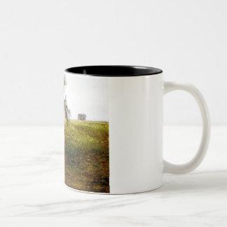 Árbol con las caras tazas de café