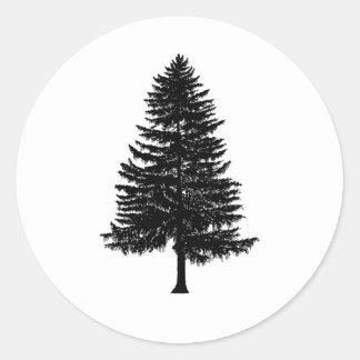 árbol de abeto etiquetas