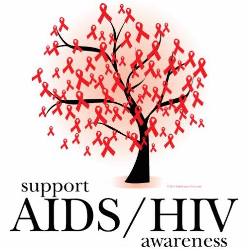 Árbol de AIDS/HIV Fotoescultura Vertical