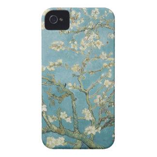 Árbol de almendra en flor de Vincent van Gogh Funda Para iPhone 4 De Case-Mate