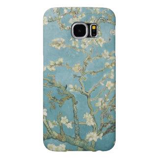 Árbol de almendra en flor de Vincent van Gogh Fundas Samsung Galaxy S6