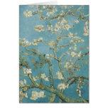 Árbol de almendra en flor de Vincent van Gogh Felicitaciones
