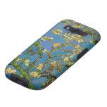 Árbol de almendra floreciente de Van Gogh, flores Galaxy SIII Funda