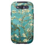Árbol de almendra floreciente de Van Gogh Galaxy S3 Cárcasas