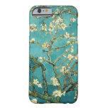 Árbol de almendra floreciente de Van Gogh Funda De iPhone 6 Barely There